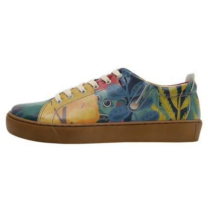 Bunte Sneaker mit schönen Motiven und kreativen Designs - Dogo Sneaky - Staying At Home im DOGO Onlineshop bestellen!