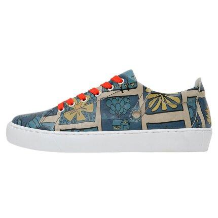 Bunte Sneaker mit schönen Motiven und kreativen Designs - Dogo Sneaky - It Is A New Day im DOGO Onlineshop bestellen!