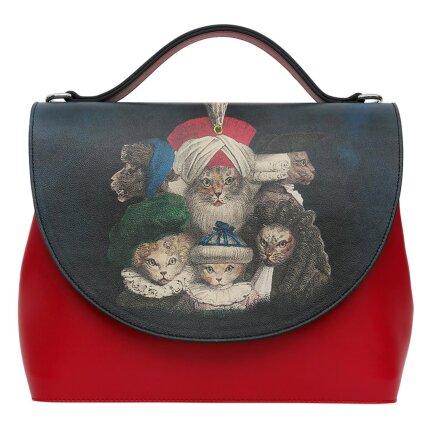 Bunte Taschen mit schönen Motiven und kreativen Designs - DOGO Handy - Royal Cats im DOGO Onlineshop bestellen!