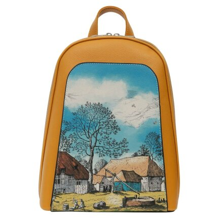 Bunte Taschen mit schönen Motiven und kreativen Designs - Dogo Tidy Bag - Back in Town im DOGO Onlineshop bestellen!