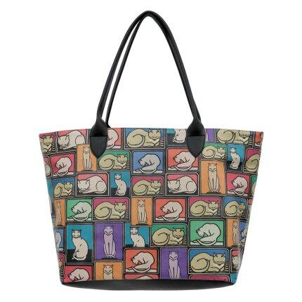 Bunte Taschen mit schönen Motiven und kreativen Designs - DOGO Weekender - Cats and Boxes im DOGO Onlineshop bestellen!