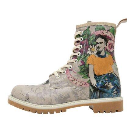 Bunte Boots mit schönen Motiven und kreativen Designs - Dogo Boots - A Flower From The Past im DOGO Onlineshop bestellen!