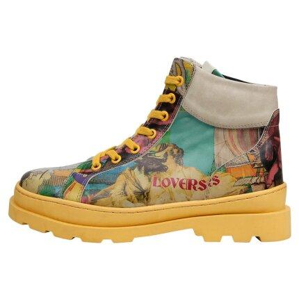 Bunte Boots mit schönen Motiven und kreativen Designs - DOGO Adriana - Ancient Tales Onlineshop bestellen!