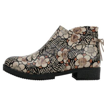 Bunte Boots mit schönen Motiven und kreativen Designs - DOGO Chelsy - Sticks and Stones im DOGO Onlineshop bestellen!
