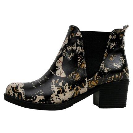Bunte Boots mit schönen Motiven und kreativen Designs - DOGO Eve Boots - You Give me Butterflies im DOGO Onlineshop bestellen!