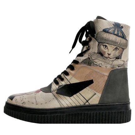 Bunte Sneaker Boots mit schönen Motiven und kreativen Designs - Dogo Future Boots - Mon Cher im DOGO Onlineshop bestellen!