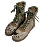 Bunte Sneaker Boots mit schönen Motiven und kreativen...