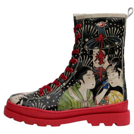 Bunte Boots mit schönen Motiven und kreativen Designs - Dogo Gisele - Small Talk im DOGO Onlineshop bestellen!