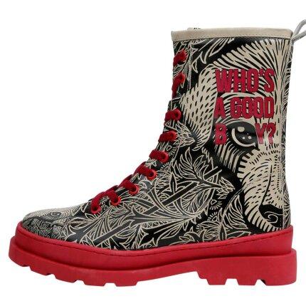 Bunte Boots mit schönen Motiven und kreativen Designs - Dogo Gisele - Good Boy im DOGO Onlineshop bestellen!
