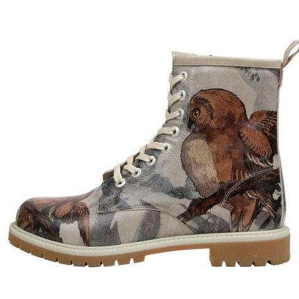 Bunte Boots mit schönen Motiven und kreativen Designs - Dogo Boots - Chatting on a Branch im DOGO Onlineshop bestellen!