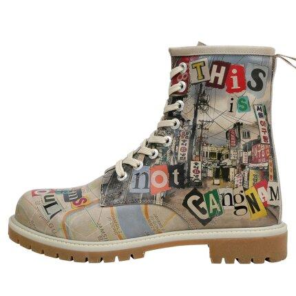 Bunte Boots mit schönen Motiven und kreativen Designs - Dogo Boots - Not Gangnam im DOGO Onlineshop bestellen!