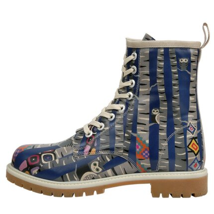 Bunte Boots mit schönen Motiven und kreativen Designs - Dogo Boots - Owl Gang im DOGO Onlineshop bestellen!