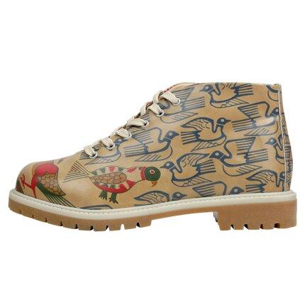 Bunte Boots mit schönen Motiven und kreativen Designs - Love Birds im DOGO Onlineshop bestellen!
