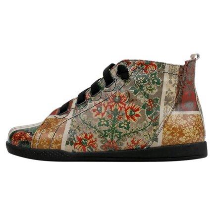 Bunte Sneaker mit schönen Motiven und kreativen Designs - DOGO Sneaker Wonka - Floral Scented im DOGO Onlineshop bestellen!