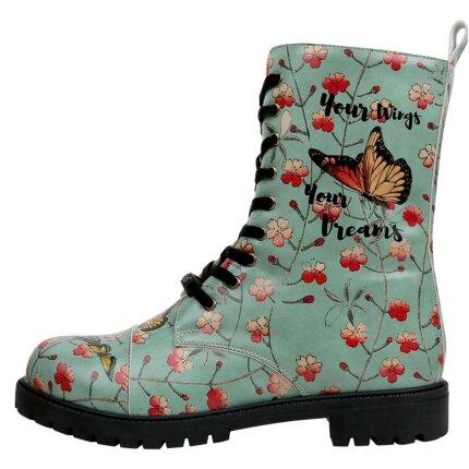 Bunte Boots mit schönen Motiven und kreativen Designs - DOGO Zipsy - Your Wings, Your Dreams im DOGO Onlineshop bestellen!