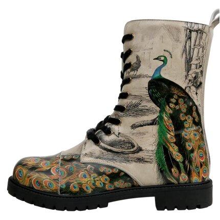 Bunte Boots mit schönen Motiven und kreativen Designs - DOGO Zipsy - Gracious Feathers im DOGO Onlineshop bestellen!