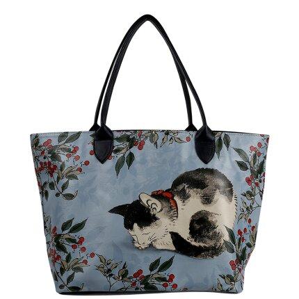 Bunte Taschen mit schönen Motiven und kreativen Designs - DOGO Weekender - Sleepy Cat im DOGO Onlineshop bestellen!