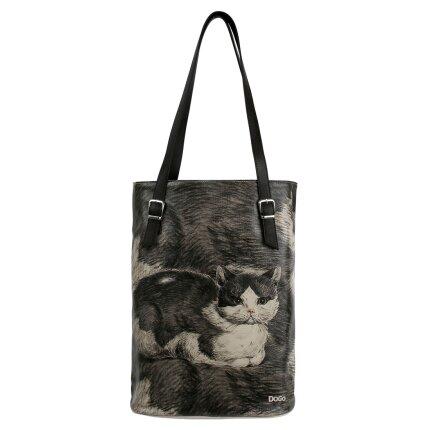 Bunte Taschen mit schönen Motiven und kreativen Designs - Dogo Tall Bag - Curious Eyes im DOGO Onlineshop bestellen!