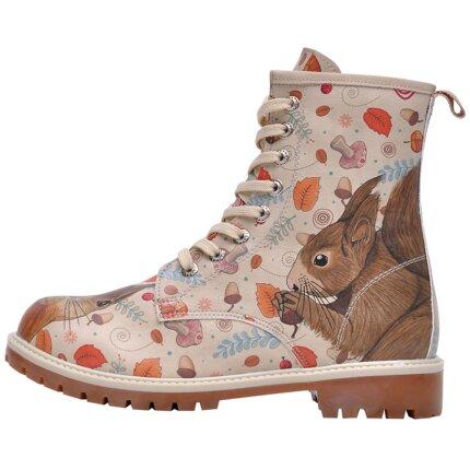 Bunte Boots mit schönen Motiven und kreativen Designs - Dogo Boots - Squirrel im DOGO Onlineshop bestellen!