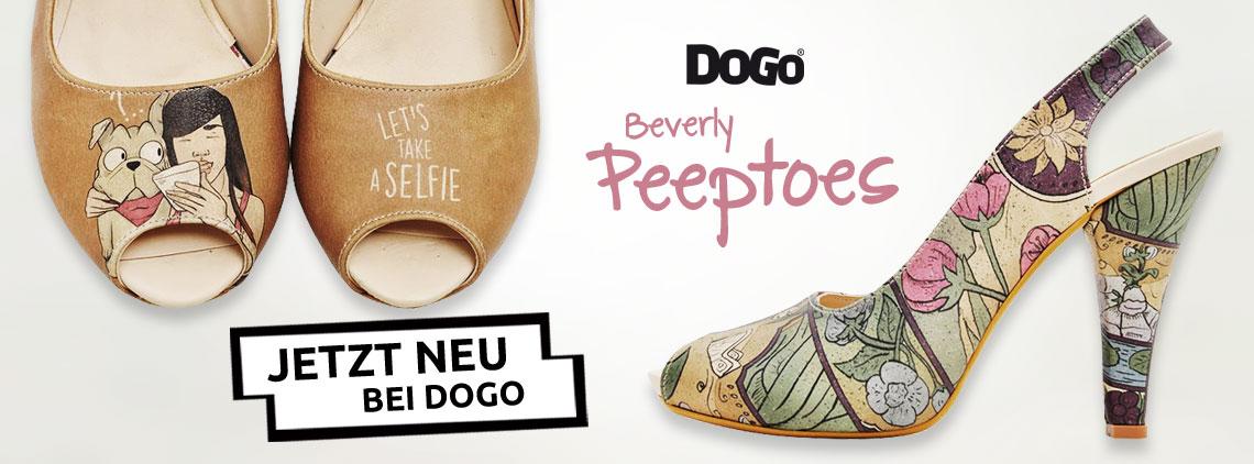 DOGO Beverly Peeptoes