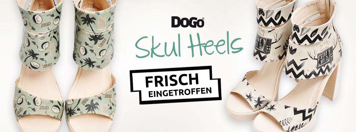 DOGO Skull Heels