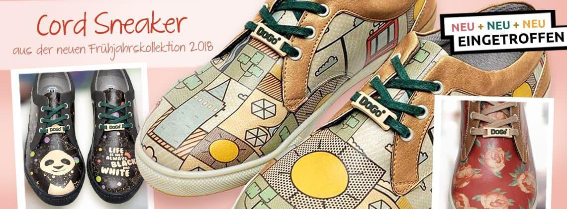 DOGO Cord Sneaker